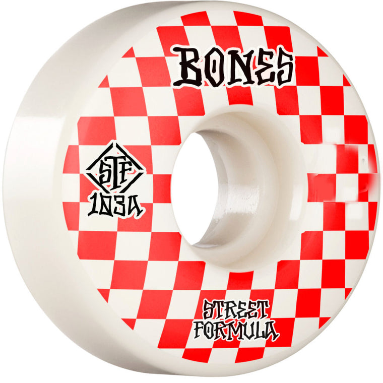 Bones Wheels STF Patterns Slims V3 103A 54mm