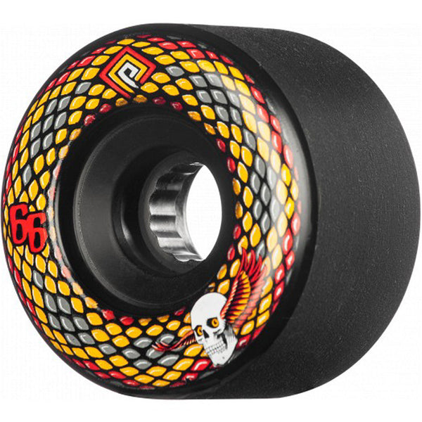 Powell Peralta Soft Slides Snakes Black 66mm