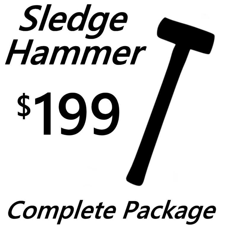 Build Your Own Board! SLEDGEHAMMER Package $199