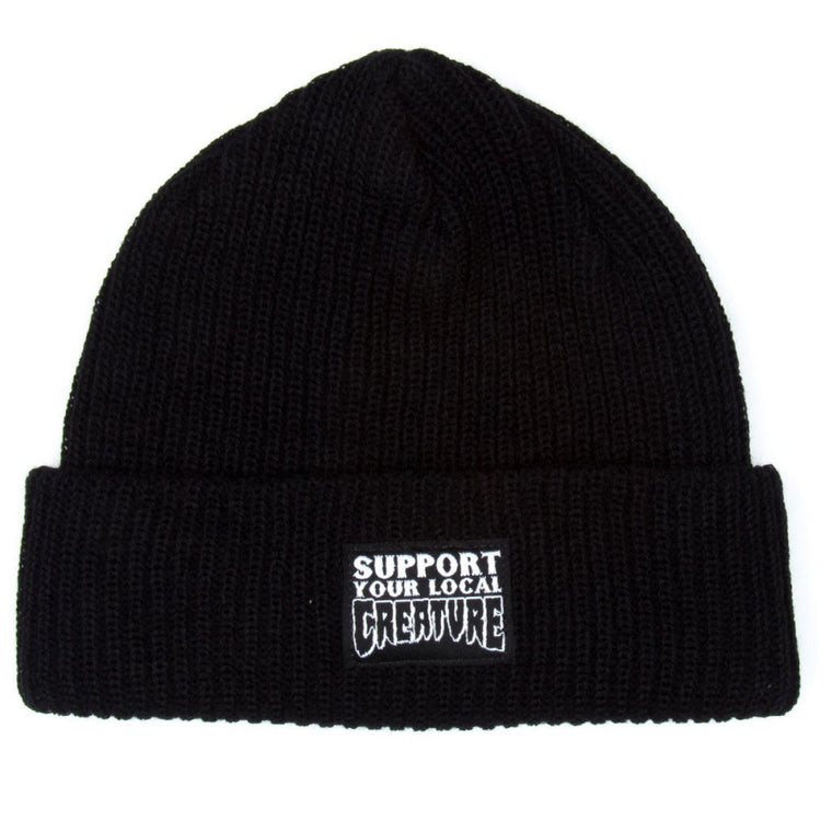 Creature Support Beanie Black