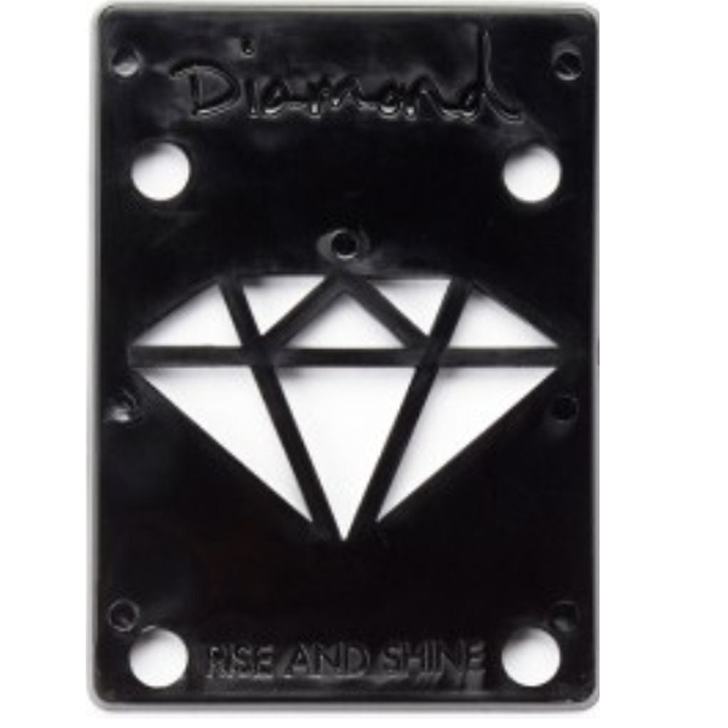 Diamond Riser Pads 1/8 inch black