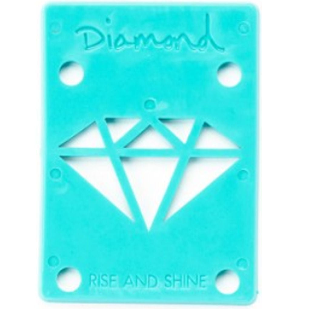 Diamond Riser Pads 1/8 inch blue