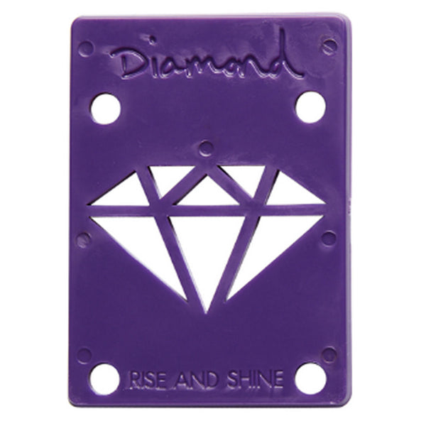 Diamond Riser Pads 1/8 inch purple