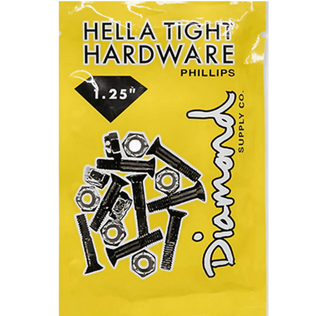 "Diamond Hella Tight Hardware 1 1/4"" phillips"