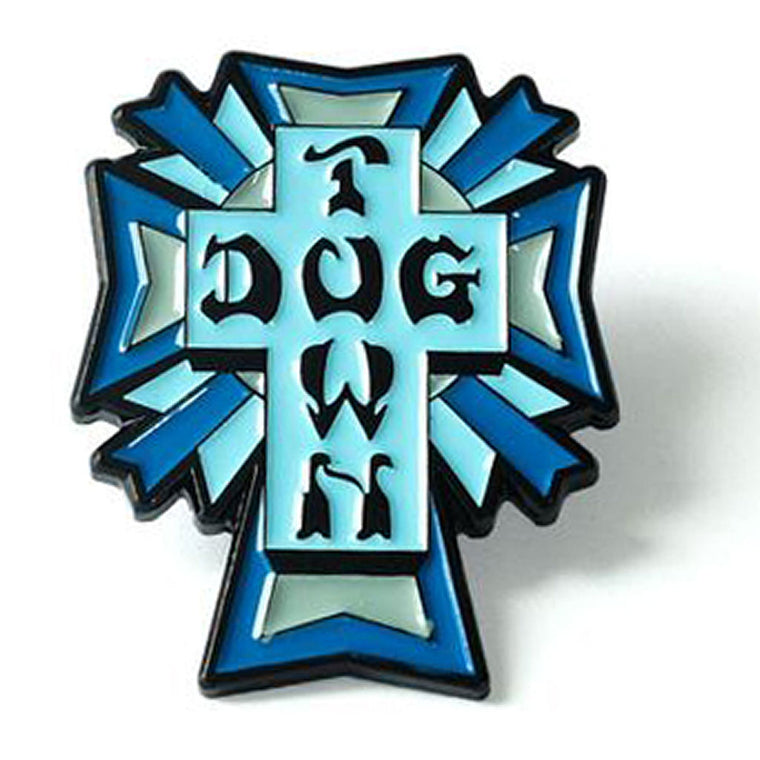 Dogtown Enamel Pin Cross Logo