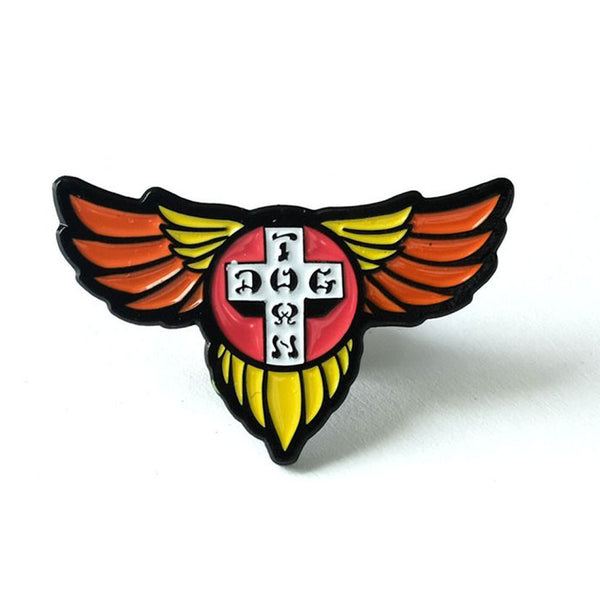 Dogtown Enamel Pin Wings