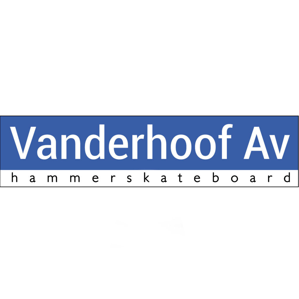 Hammer Sticker VanderHoof Av