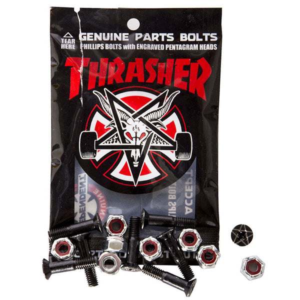 "Independent Thrasher Bolts 1"" black phillips"