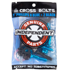"Independent Hardware With Tool 1"" phillips blue"