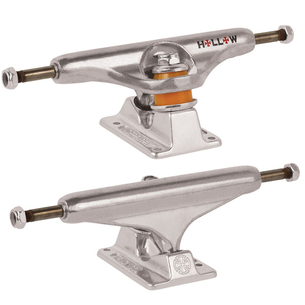 Independent Trucks 144 Forged Hollow Silver 8.25""