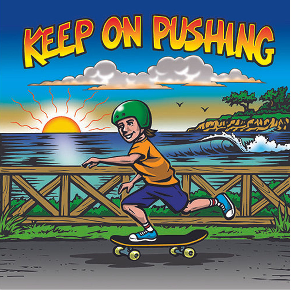 Keep On Pushing Book