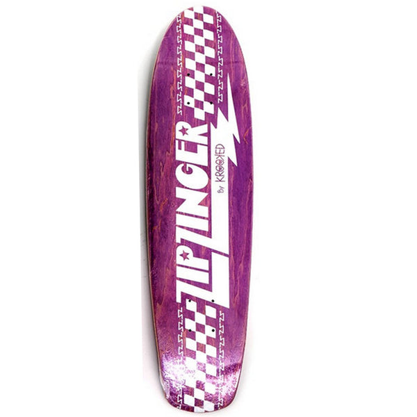 Krooked Zip Zinger Purple 7.75""