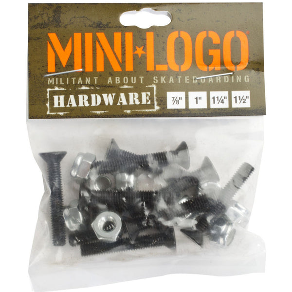 Mini Logo hardware 7/8""