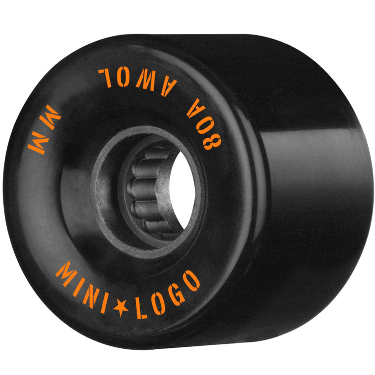 Mini Logo Wheels AWOL 55mm Black