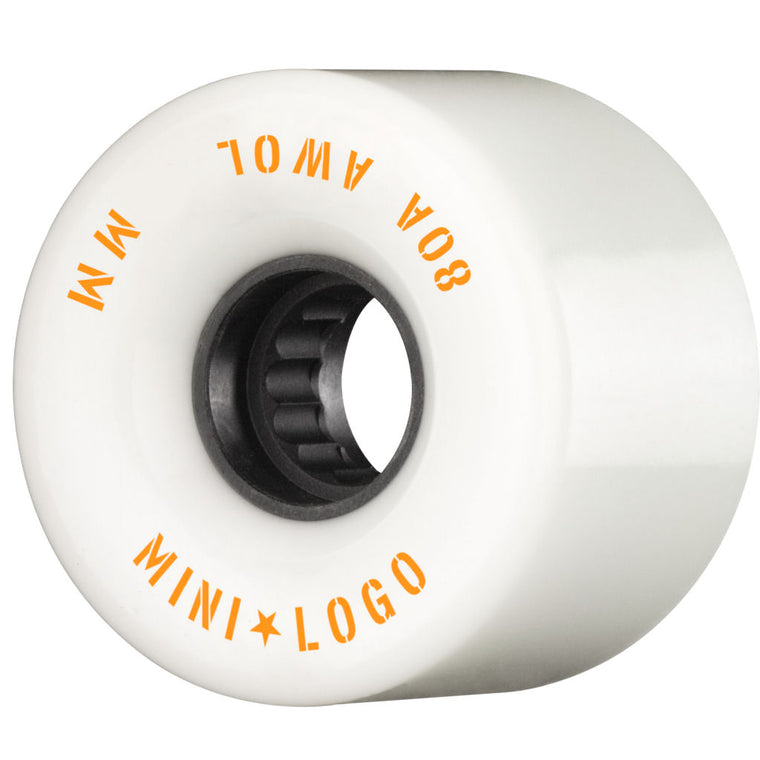 Mini Logo Wheels AWOL 55mm White