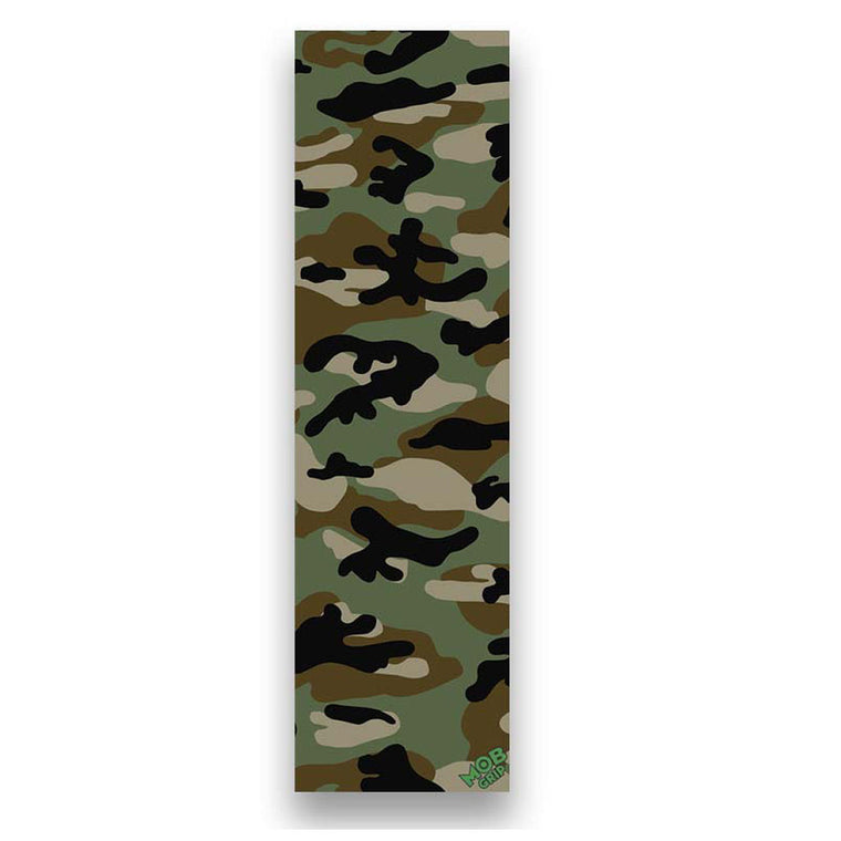 Mob Grip Tape sheet Camo Green Brown