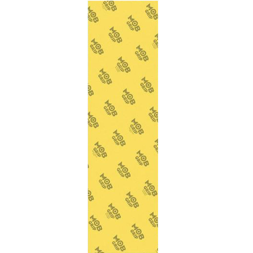 Mob Grip Tape sheet Clear Yellow
