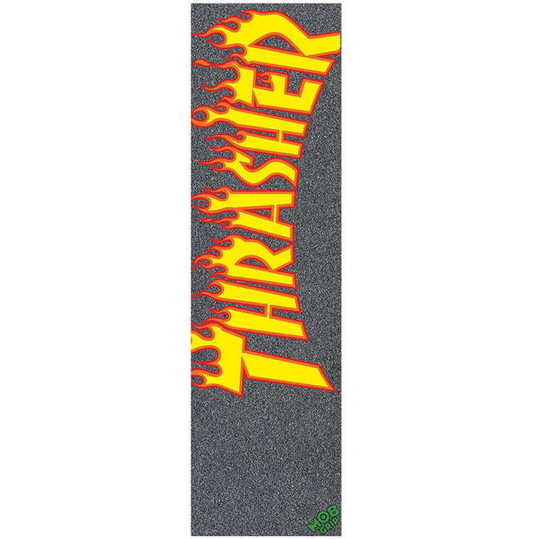 Mob Grip Tape sheet Thrasher Flame