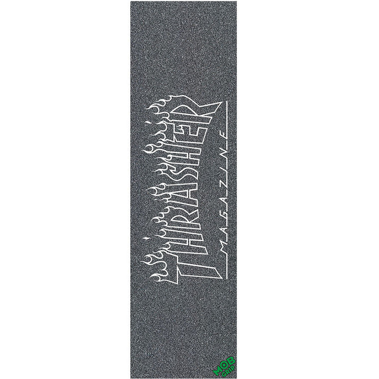 Mob Grip Tape sheet Thrasher Flame Outline