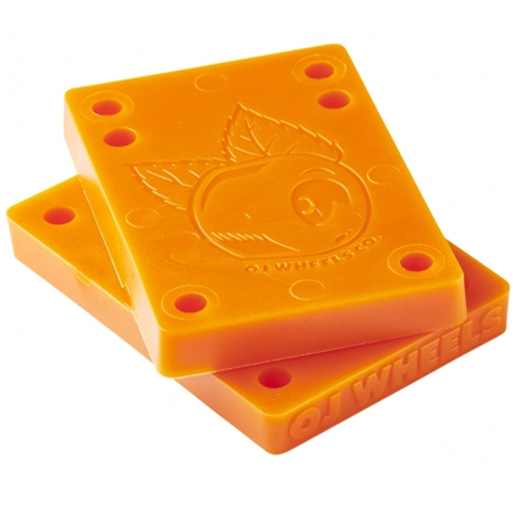 OJ Juice Cubes Riser Pads 3/8 inch orange