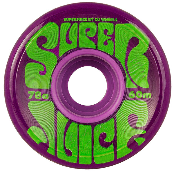OJ Super Juice Trans Purple 60mm