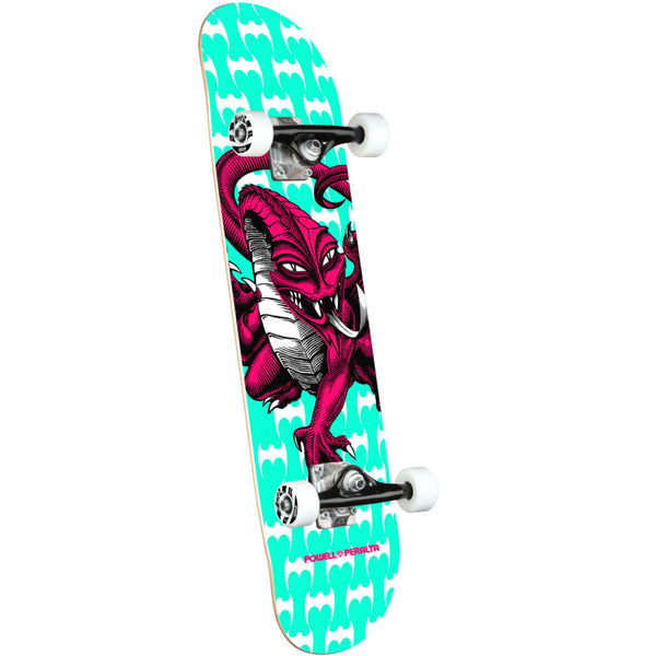 Powell Peralta Cab Dragon One Off Teal medium