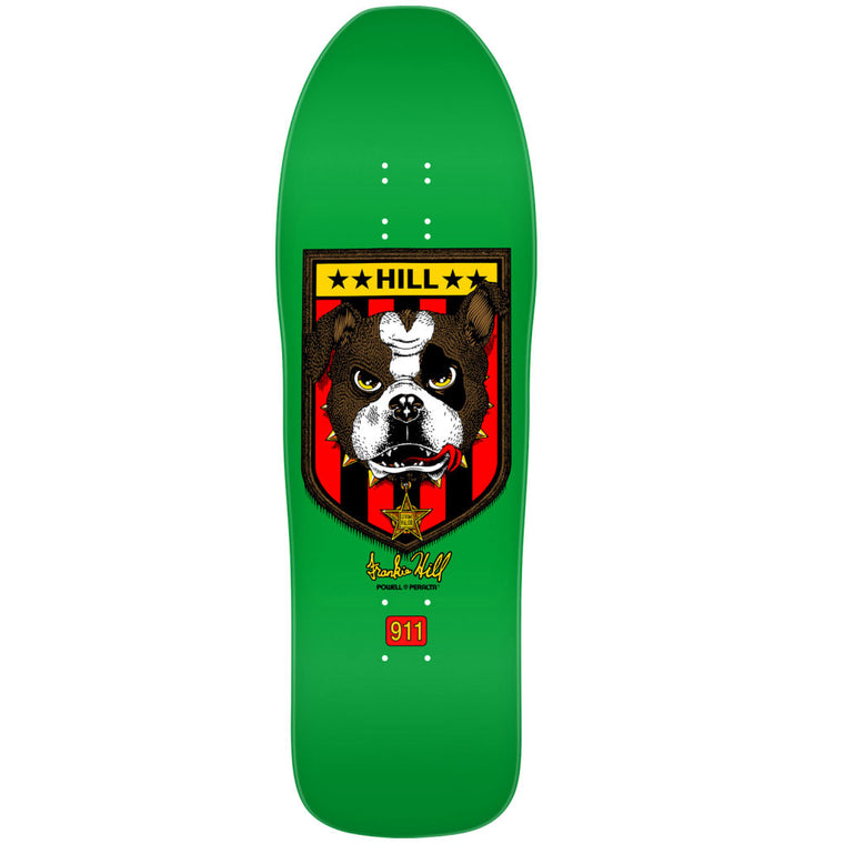 Powell Peralta Hill Bulldog Green 10