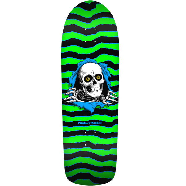 Powell Peralta Old School Ripper Green Black