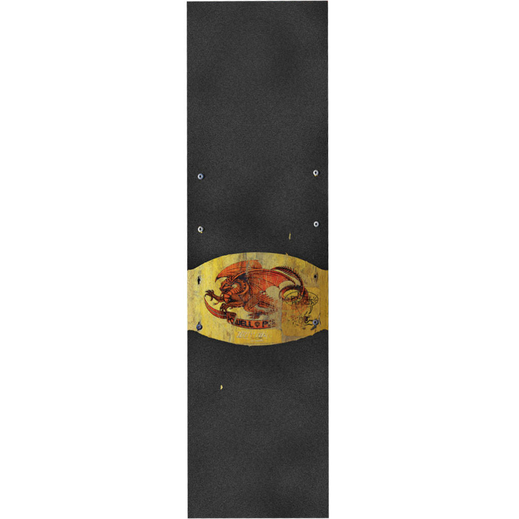 Powell Peralta Grip Tape Oval Dragon Yellow
