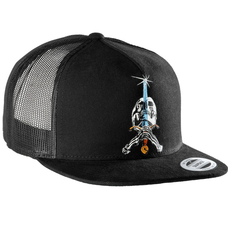 Powell Peralta Hat Skull And Sword Trucker