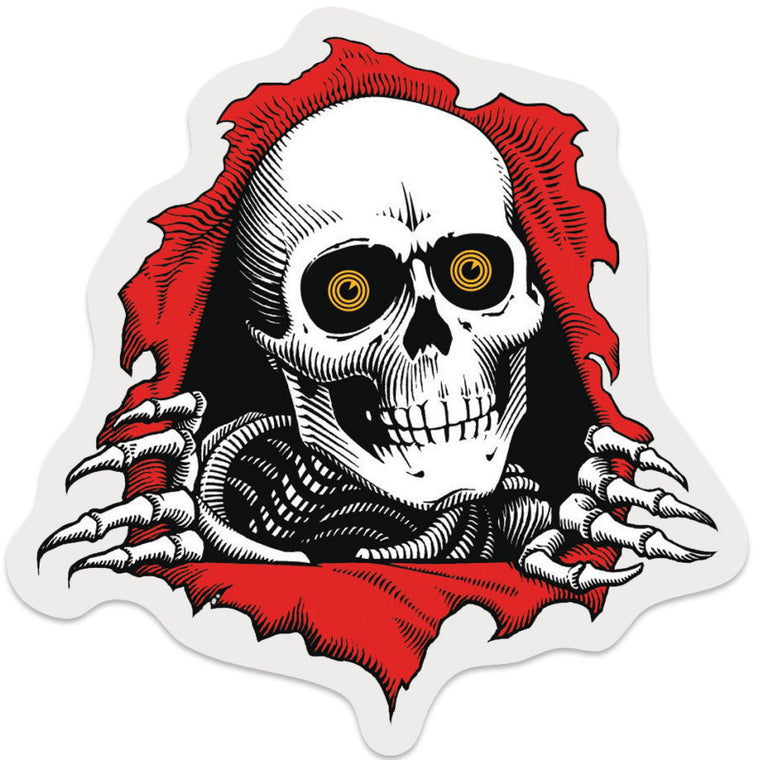Powell Peralta Sticker Ripper Die Cut