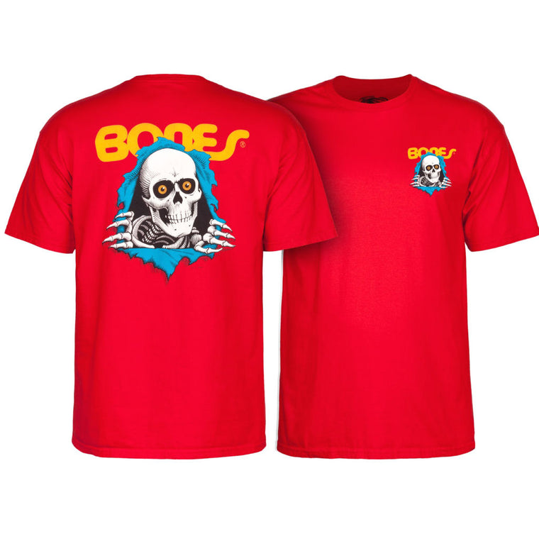 Powell Peralta Ripper red tee