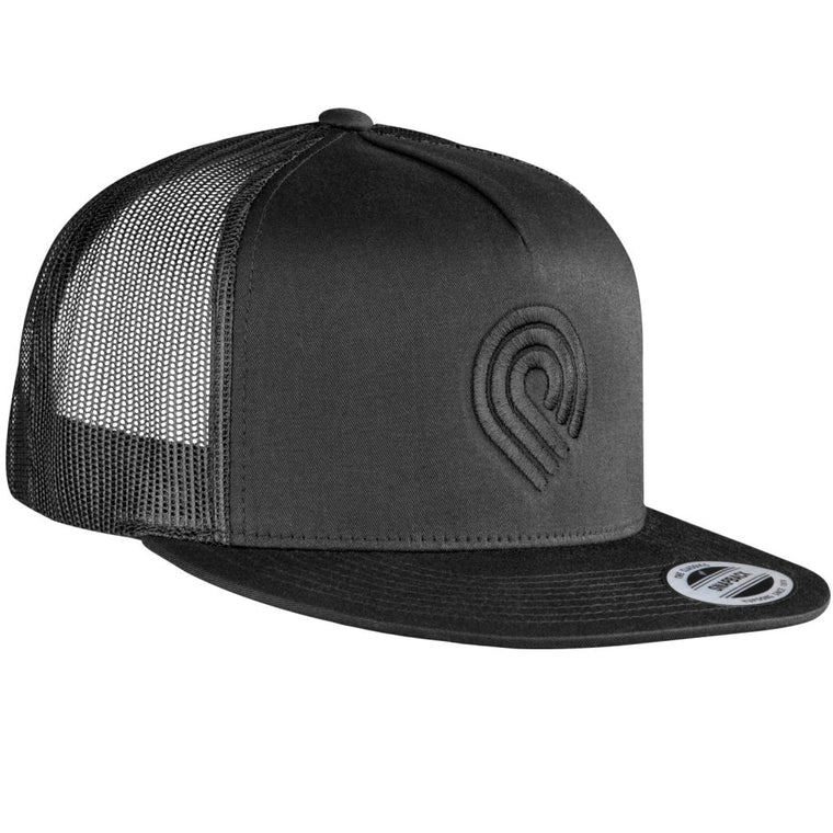 Powell Peralta Triple P Trucker Black