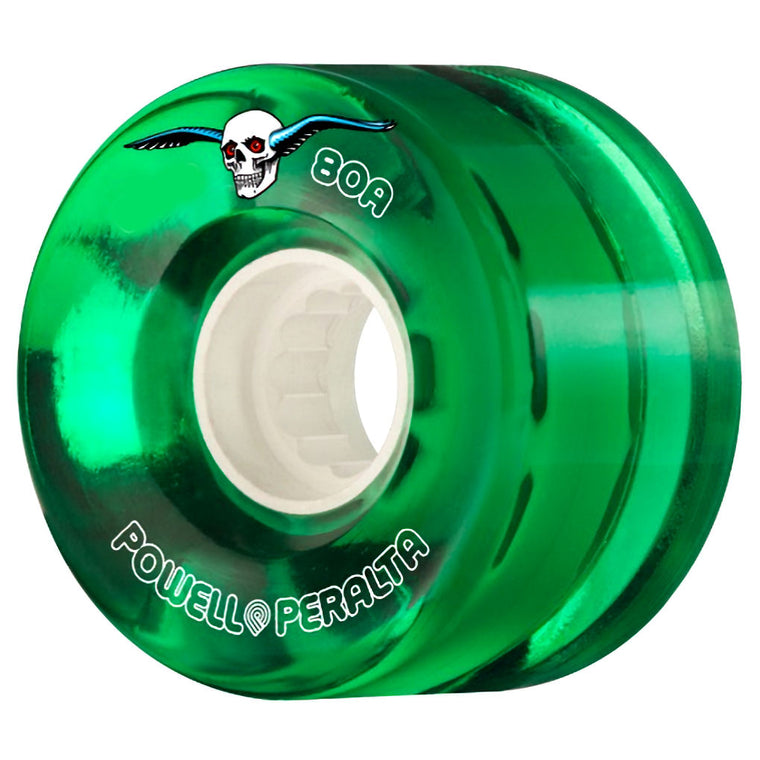 Powell Peralta Clear Cruisers 80A 55mm Green
