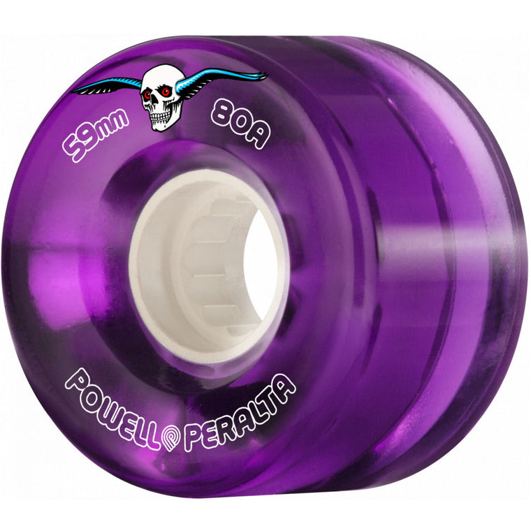 Powell Peralta Clear Cruisers 59mm Purple