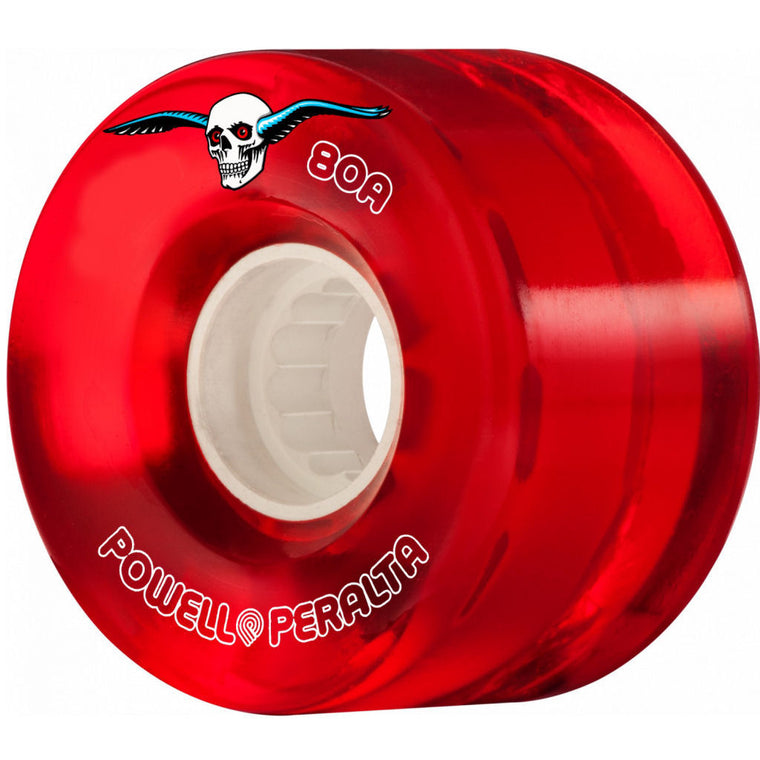 Powell Peralta Clear Cruisers 55mm Red