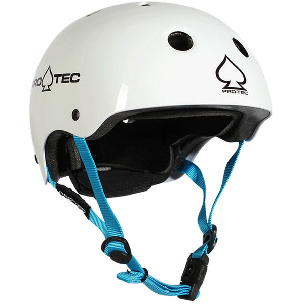 Protec Helmet CSPC Certified Gloss White Junior XXXS
