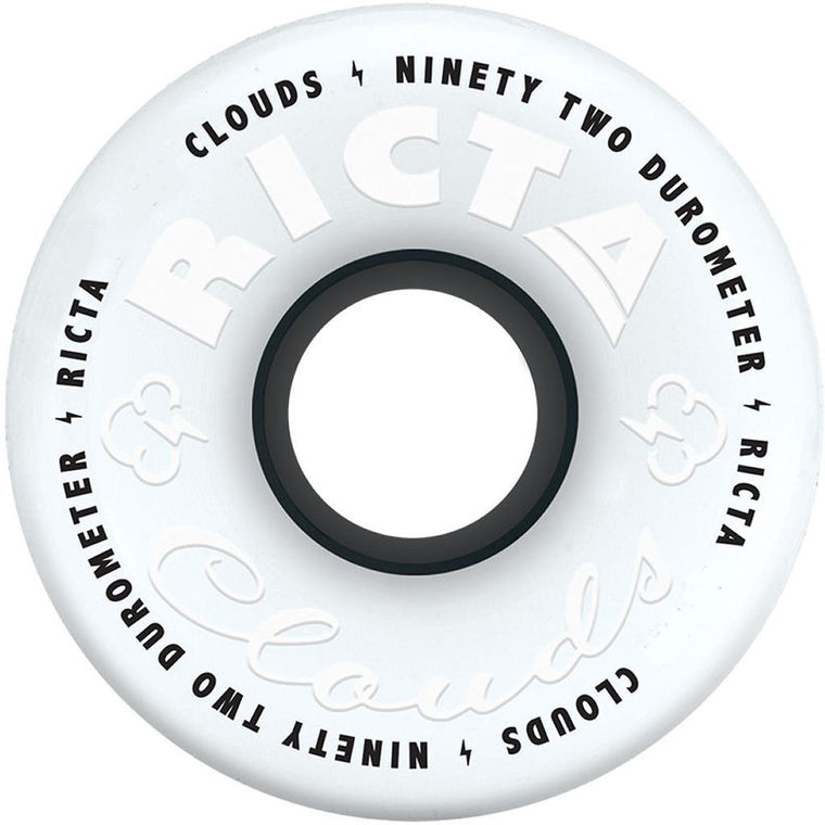 Ricta Wheels Clouds white 56mm