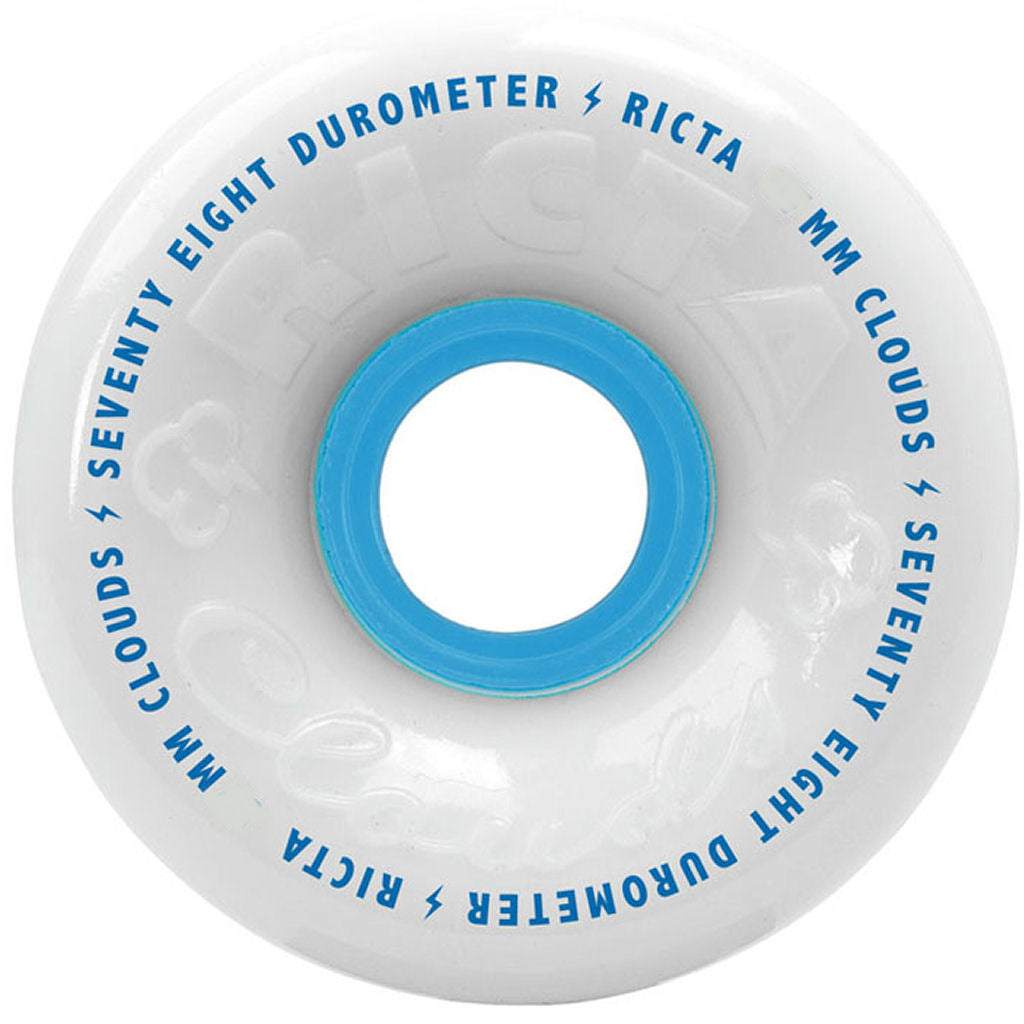 Ricta Wheels Clouds white 78A 60mm