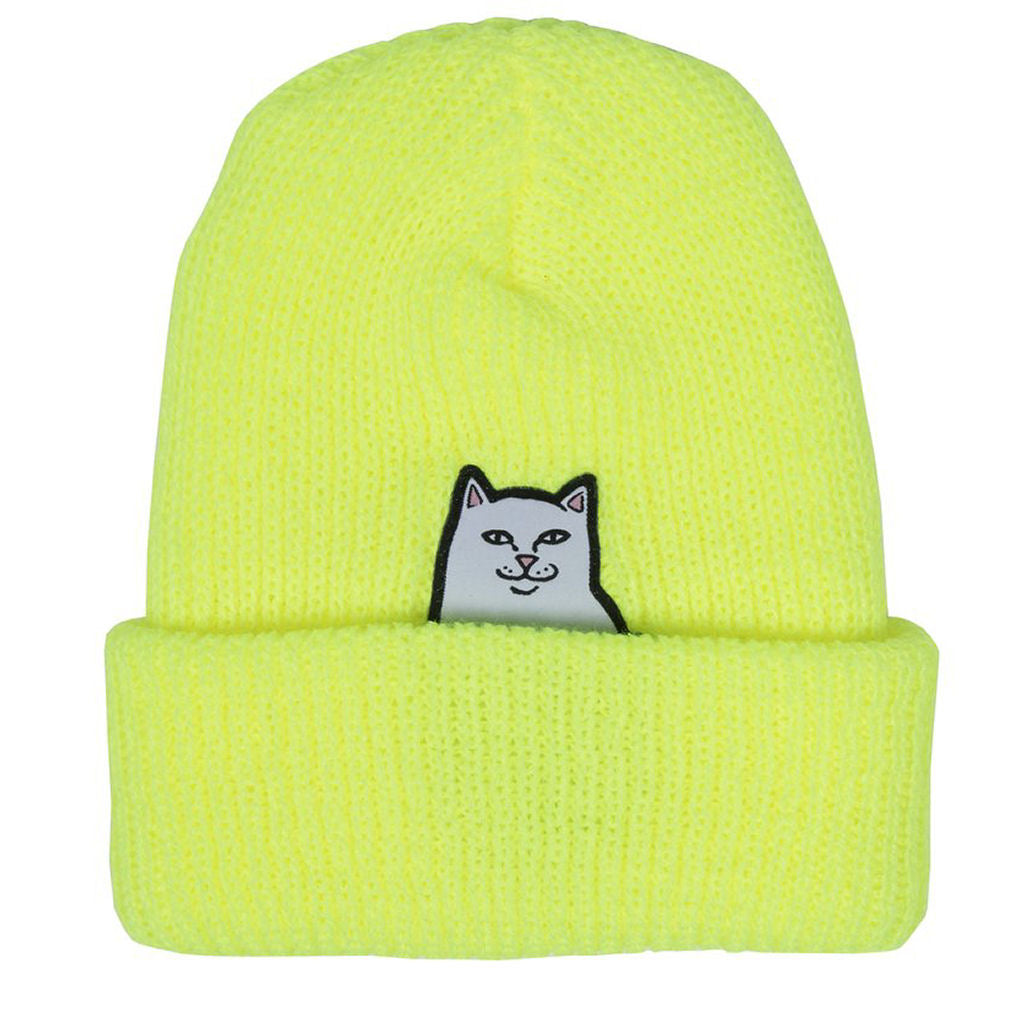 Rip N Dip Lord Nermal Beanie Safety Yellow