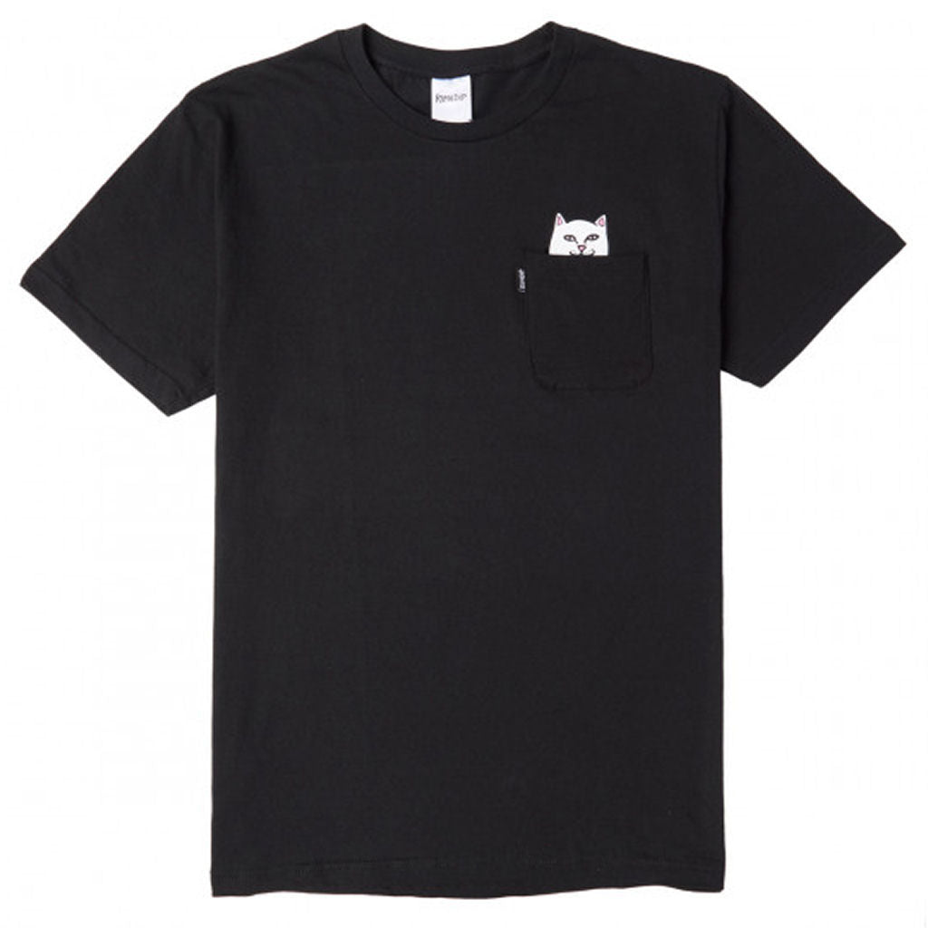 Ripndip Pocket Tee Lord Nermal Black