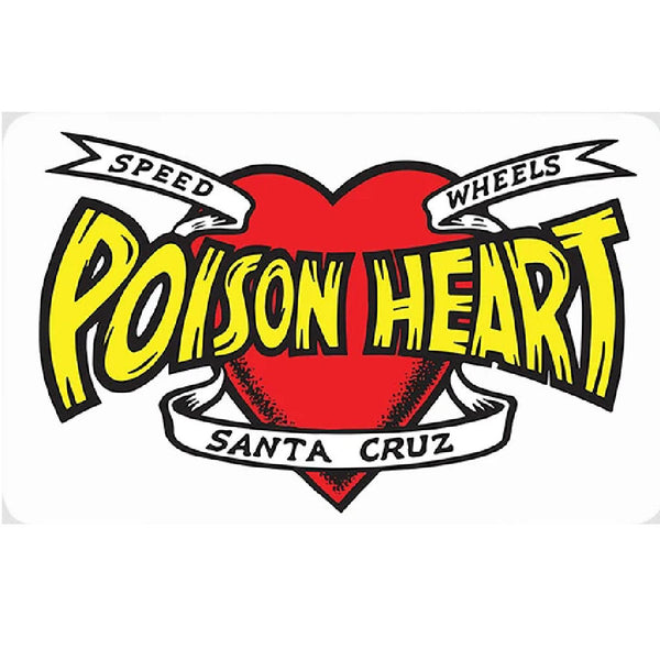 Santa Cruz Sticker Poison Heart