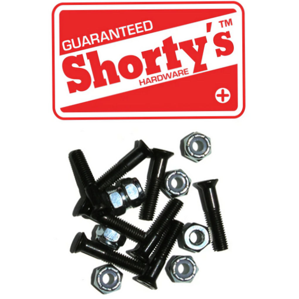 "Shorty's Bolts 1"" Black Phillips"