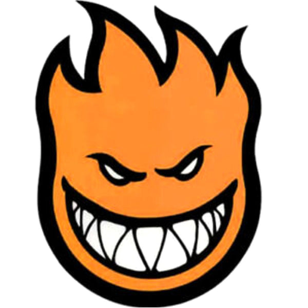 Spitfire Bighead Medium Sticker Orange