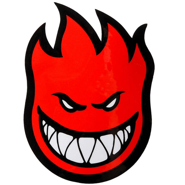 Spitfire Bighead Medium Sticker Red