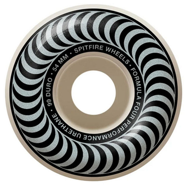 Spitfire Wheels F4 Classics Silver 99A 54mm
