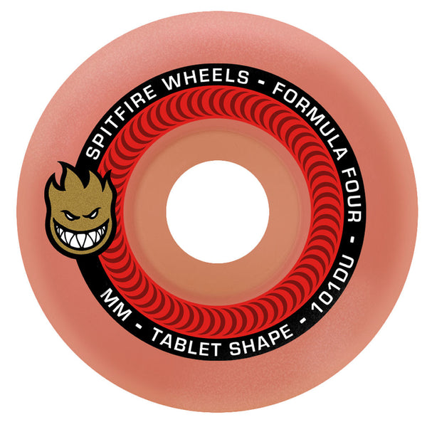 Spitfire Wheels F4 Tablets Aurora Red 54mm 101A