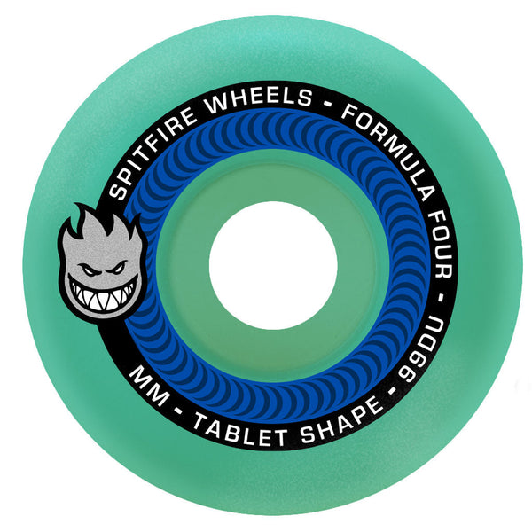 Spitfire Wheels F4 Tablets Ice Blue 54mm 99A