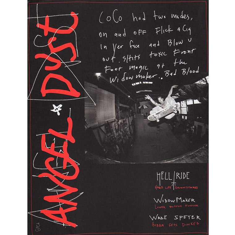 Thrasher Angel Dust Zine Book