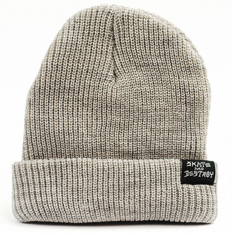 Thrasher Beanie Skate & Destroy grey